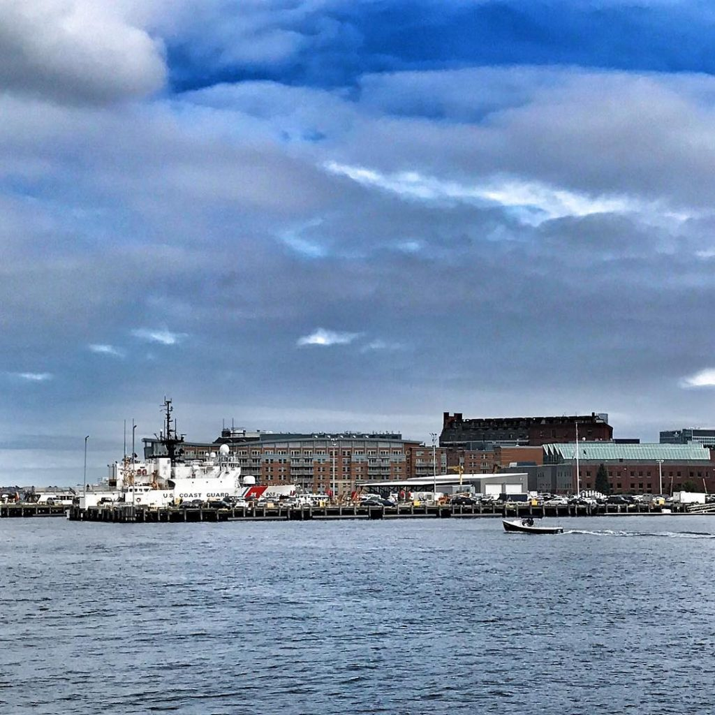 USCG Base Boston and the Cutter Spencer semperparatus